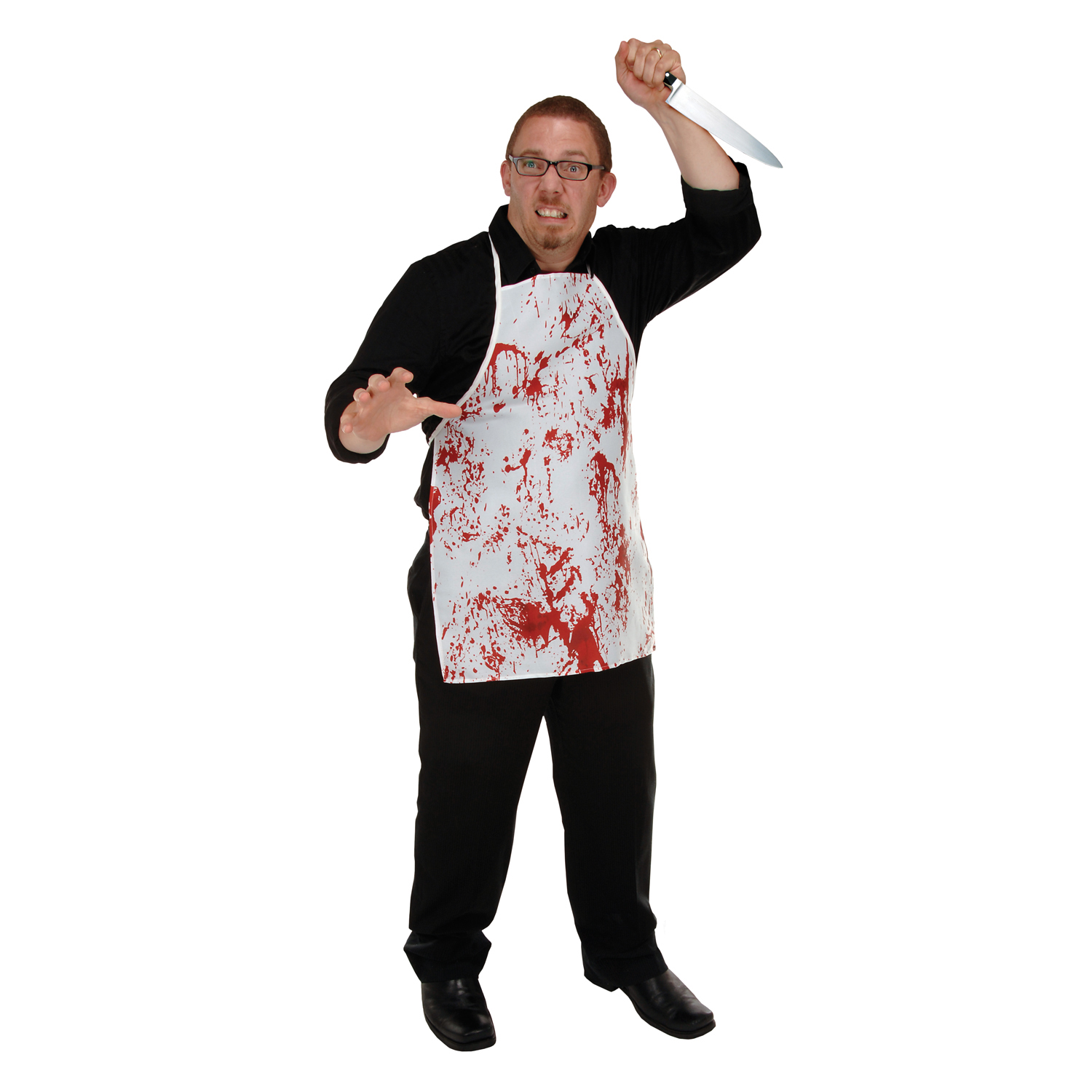 Halloween Horror Fabric Apron Ea | Party Supplies, Decorations ...
