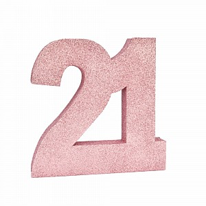 Birthday Table Decoration 20cm Rose Gold 21 ea  sc 1 st  Lombard Party Supplies & 21st Birthday Decorations -21 Balloons Banners u0026 21st Party ...