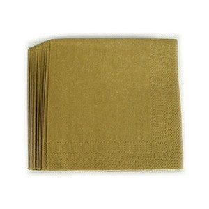 Napkin Dinner Gold 2 ply Pk 20  sc 1 st  Lombard Party Supplies & Gold Coloured Tableware Table Covers Supplies Cups u0026 Plates- Lombard