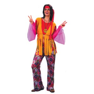 Costume Hippie Woman Adult Ea | Party Supplies Decorations u0026 Costumes - Lombard The Paper People  sc 1 st  Lombard & Costume Hippie Woman Adult Ea | Party Supplies Decorations ...