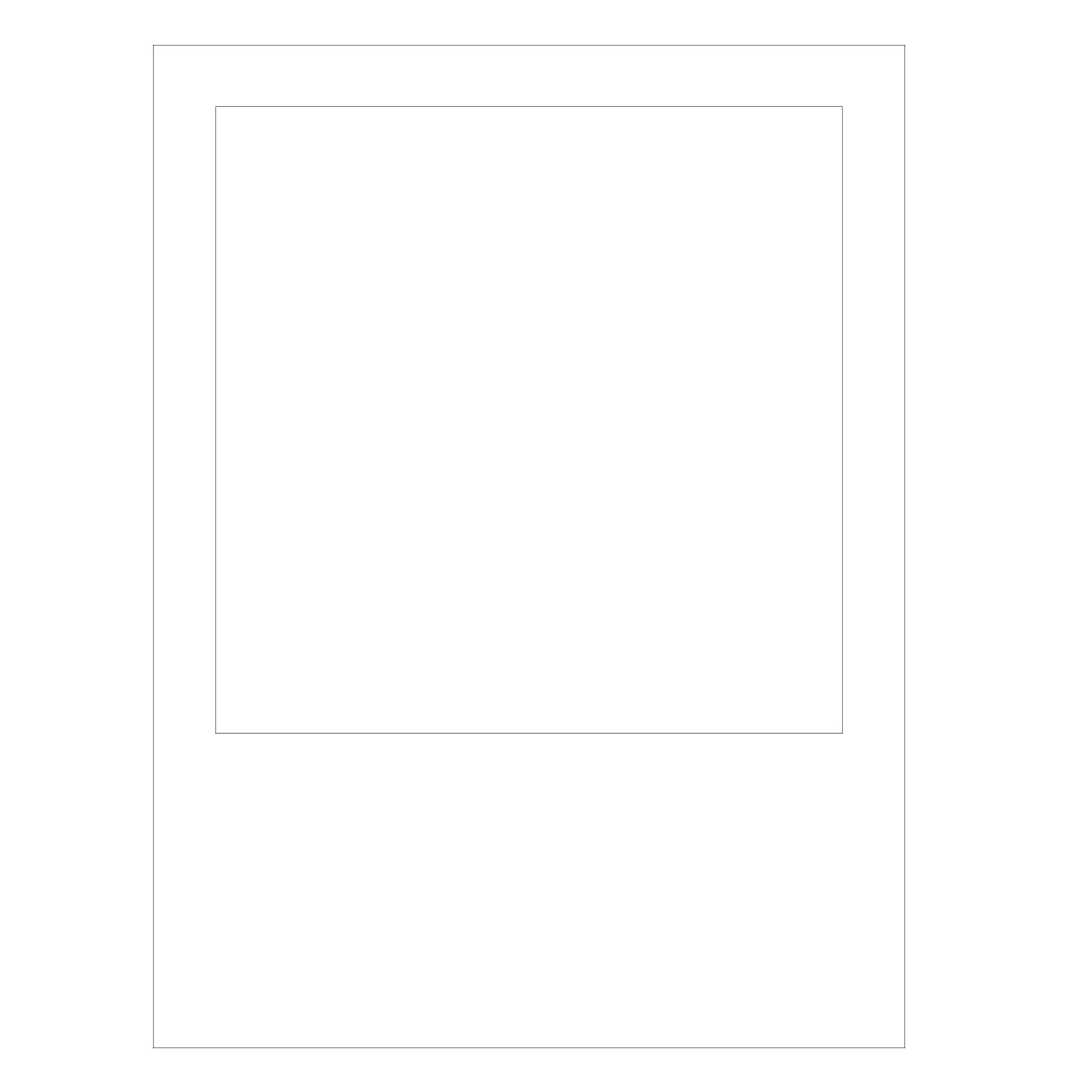 Cut Out Polaroid Frame Ea | Party Supplies, Decorations & Costumes ...
