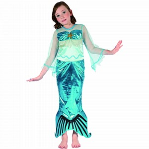 Costume Mermaid Child Small Ea Party Supplies Decorations