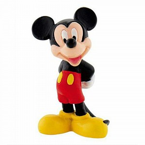 Cake Topper Figurine Mickey Mouse 10cm Ea