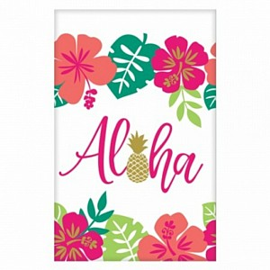 Luau Aloha Tablecover Paper 137x243cm Ea  sc 1 st  Lombard & Tablecovers | Party Supplies Decorations \u0026 Costumes - Lombard The ...